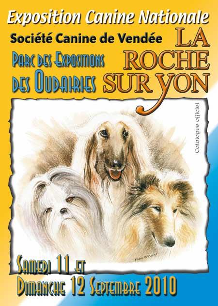 exposition canine La Roche sur Yon Vendée